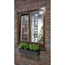 Дерев'яні вікна та двері зі склопакетом: як відрізнити зрощений брус від суцільного?