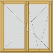 Двосекційне з штульповим відкриванням